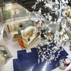 Museo del Cristallo Colle di Val d'Elsa Cascata di Calici