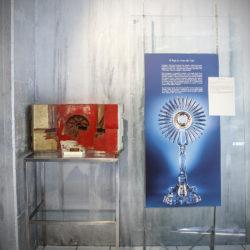 Museo del Cristallo Colle di Val d'Elsa Ostensorio Papa Giovanni Paolo II
